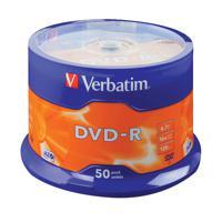 Verbatim 4.7GB 16x Speed Spindle DVD-R (Pack of 50) 43500