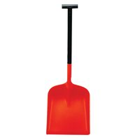 Orange Snowburner Large Blade T-Grip Snow Shovel 317597
