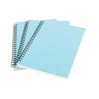 A5 Spiral Pad 80 Leaf Blue WX10039