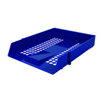 Contract Blue Letter Tray WX10052A