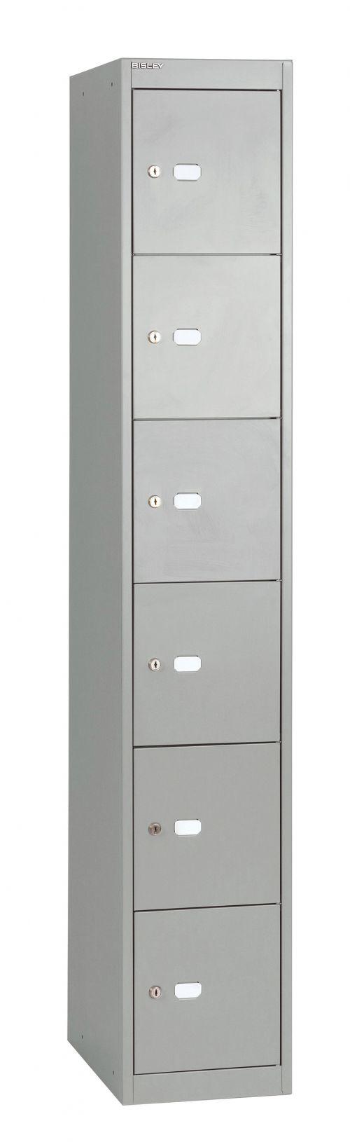 Bisley 6 Door 30.5 Locker - Goose Grey