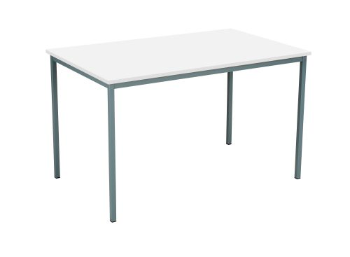 Eco 18 Rectangular 120 Multi-Purpose Table - White