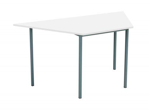 Eco 18 Trapezoidal 150 Multi-Purpose Table - White