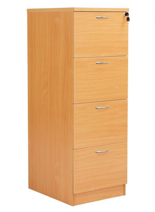 Fraction Plus 4 Drawer Filing Cabinet - Beech