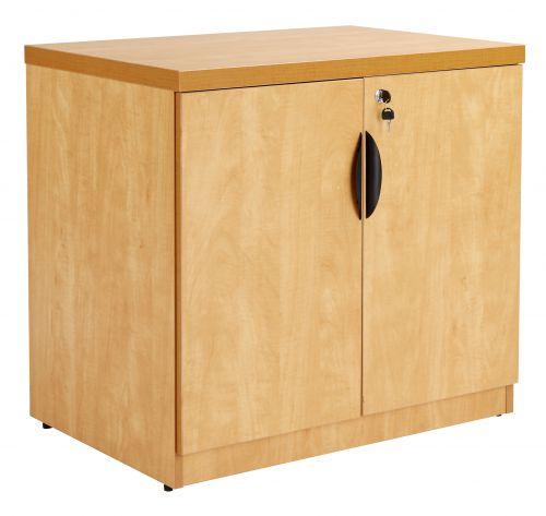 Prime Executive Double Door Desk High Cabinet inc. 1 Shelf - Lucida Pear