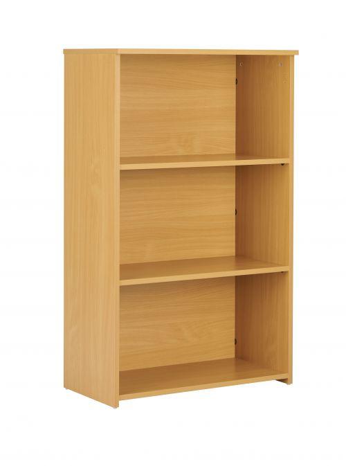 Eco 18 Premium Bookcase inc. 2 Shelves - Oak