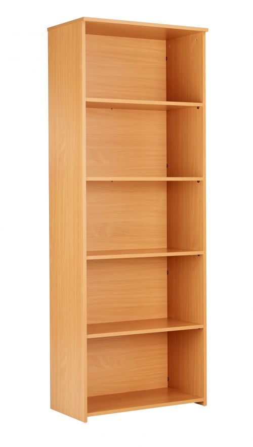 Eco 18 Premium Bookcase inc. 4 Shelves - Beech