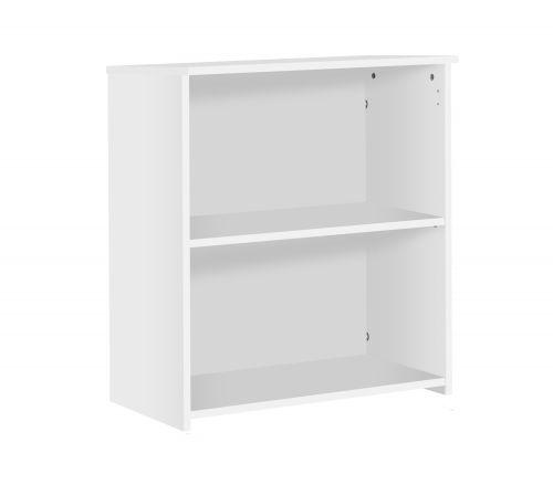 Eco 18 Premium Bookcase inc. 1 Shelf - White