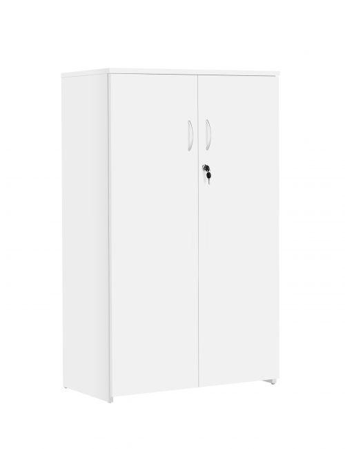 Eco 18 Premium Cupboard inc. 2 Shelves - White