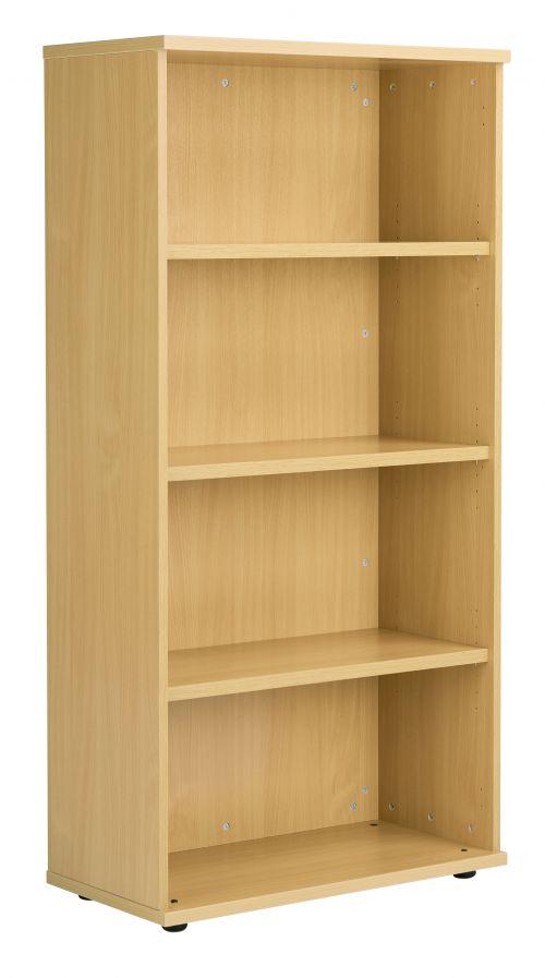 Fraction Plus Bookcase inc. 3 Shelves - Nova Oak