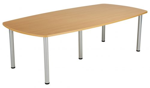 Fraction Plus Boardroom Table - Beech