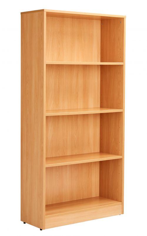 Workmode Bookcase inc. 3 Shelves - Beech