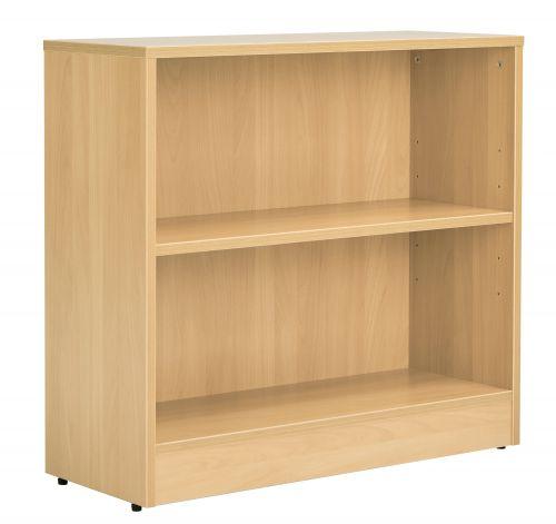 Workmode Desk High Bookcase inc. 1 Shelf - Oak