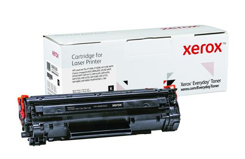 Xerox Everyday Toner For CE278A/CRG-126/128 Black Laser Toner 006R03630