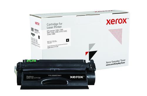 Xerox Everyday Toner For Q2613X/C7115X Black Laser Toner 006R03661