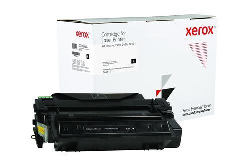 Xerox Everyday Toner For Q6511X Black Laser Toner 006R03668