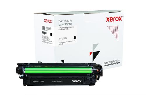 Xerox Everyday Toner For CE260A Black Laser Toner 006R03675