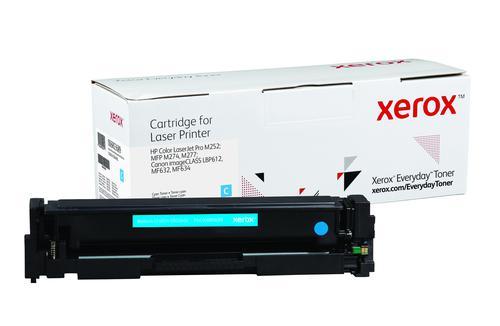 Xerox Everyday Toner For CF401A/CRG-045C Cyan Laser Toner 006R03689