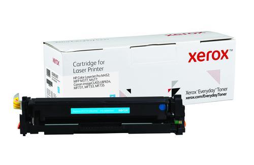 Xerox Everyday Toner For CF411A/CRG-046C Cyan Laser Toner 006R03697