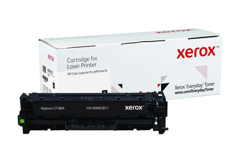 Xerox Everyday Toner For CF380A Black Laser Toner 006R03817
